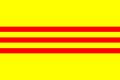 Drapeau de la dynastie Nguyen 1